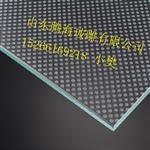 长期供应防滑玻璃 透明底 玉砂底