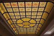 蒂凡尼平板彩色玻璃工艺彩色玻璃工艺。教堂玻璃。镶嵌玻璃