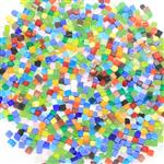 厂家供应糖果色玻璃马赛克砖块
