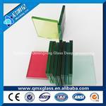 8+8彩色夹胶玻璃