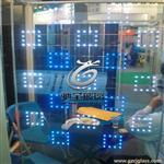 广州发光玻璃图案定制
