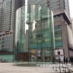优质平钢弯钢钢化玻璃
