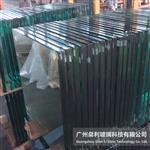 11米长超白钢化幕墙玻璃