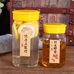 蜂蜜瓶八角玻璃瓶