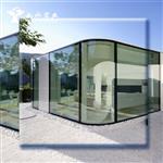 高档建筑装饰工程弯钢化玻璃