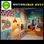 广州|广州数码彩釉防火玻璃厂家