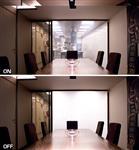 通电调光玻璃 办公室隔断玻璃