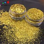 汕头|玻璃漆金粉真石漆金葱粉腰线金粉广东金片