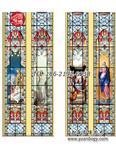 上海|教堂玻璃彩绘镶嵌玻璃圆博工艺专业定制