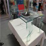 玻璃茶几  热弯桌子 热弯玻璃  私人定制玻璃桌