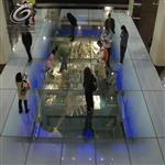 佛山 广东防滑玻璃地板