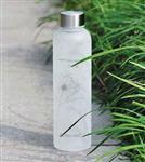 白色玻璃瓶