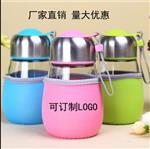 徐州|玻璃杯企鹅杯实用促销礼品商务水杯广告开业杯随手杯定制LOGO