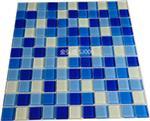 佛山|现货三色蓝水晶玻璃马赛克