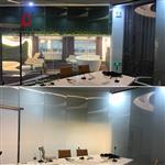 广州|办公室隔断厚12mm调光玻璃