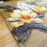 玻璃uv喷绘打印机 彩印高清牌浮雕3D图案