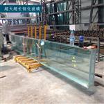 超长超大钢化玻璃(可做夹胶玻璃) 高端定向夹层玻璃