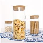 批发密封罐花茶罐子高硼硅材质可定制