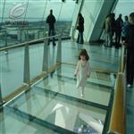 防滑玻璃楼梯防滑玻璃玻璃