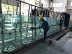 香港地区供应15mm/19mm超大超长超宽超厚平弯钢化玻璃