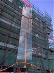 澳门地区供应15mm/19mm超大超长超宽超厚平弯钢化玻璃