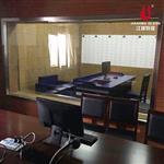审讯室单项透视玻璃 辨认室镜面玻璃