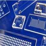 0.2mm无碱硼硅玻璃 控制电路圆片 特体晶圆打孔