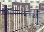 天津工厂围墙护栏 锌钢护栏加工定制 1.5米高