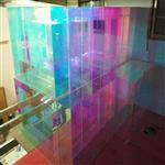 幻彩玻璃 炫彩玻璃 广州同民玻璃供应