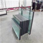 6+9A+6钢化中空玻璃 隔音隔热中空玻璃门窗定制加工