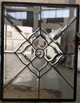 苏州|实木门专用铜条黑条镶嵌玻璃20MM