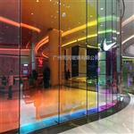 钢化幻彩玻璃 炫彩玻璃 同民供应单片6厘