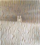 艺术夹丝玻璃 藤编夹丝玻璃 夹丝玻璃
