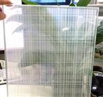 厂家定制加工各类安全夹丝玻璃