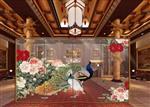 广州|高端彩釉艺术玻璃,彩釉背景墙