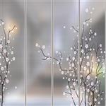 夹丝玻璃效果图  东莞夹丝玻璃厂供应高品质艺术钢化夹丝玻璃