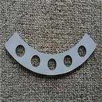 东莞灯饰玻璃厂 供应2mm超薄高温丝印灯饰钢化玻璃