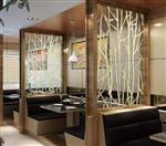 广州酒店装饰玻璃隔断