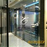 LED发光玻璃厂家供应 LED发光玻璃隔断 西餐厅