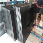 钢化背漆玻璃 东莞玻璃厂定做5mm厚黑色背漆钢化玻璃