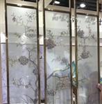 广州夹绢夹丝玻璃