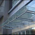 广州玻璃雨棚