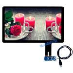 东莞|19寸触摸屏厂家定制USB接口电容屏