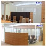 智能调光玻璃 透明和不透明变换玻璃 雾化玻璃厂家