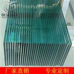 钢化白玻、5mm 8mm 12-19mm钢化玻璃 护栏扶手玻