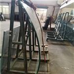 东莞热弯厂家 弧形曲面弯钢玻璃 热弯玻璃 通道弯钢玻璃