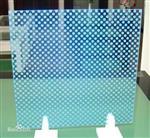 彩釉8mm10毫米厚夹胶玻璃钢化