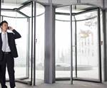 江西钢化旋转玻璃门