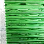 深圳厂家订制流水装饰用叠烧热熔水幕墙玻璃30mm厚