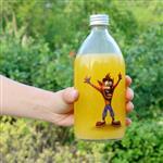 玻璃瓶饮料瓶果汁瓶铝盖密封瓶
